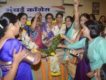 AIMC President Smt Sushmita Dev visit to Mumbai 1