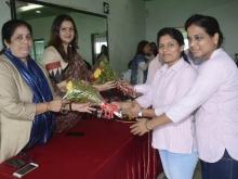 AIMC President Smt Sushmita Dev visit to Mumbai 2
