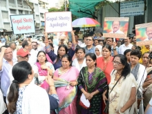 Christians in Mumbai protest 2