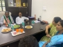 Discussion s and Lunch at the residence of VinayKumar Sorrake Ex MLA ftom Udupi