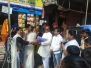 Flag Hoisting at Several places in Ghatkopar West and East Thanks to All office bearers of the North East District Congress Committee and Mahila Congress also