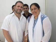Met Shri Rahul Gandhi in Delhi on 5th June 2017