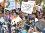 Protests against rapes in Mumbai