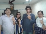 Smt. Janet D'souza and the Family franchised their Voting rights at Ghatkopar West constituency.